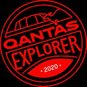 Qantas Explorer Stamp