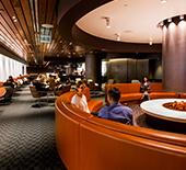 International lounge access